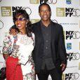 Pauletta Washington et Denzel Washington à la soirée de clôture du 50ème Festival du film de New York, le 14 octobre 2012.