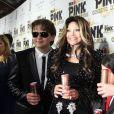 La Toya Jackson et ses neveux Prince et Blanket à la soirée de lancement de la boisson énergétique Mr. Pink Ginseng, au Beverly Wilshire Hotel à Los Angeles, le 11 octobre 2012.