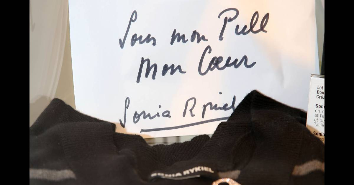 Don de sonia rykiel pour la vente aux ench res des femmes for Amour de cuisine chez soulef 2012