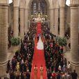 Mariage religieux du prince Guillaume, grand-duc héritier du Luxembourg, et Stéphanie de Lannoy, en la cathédrale Notre-Dame, le 20 octobre 2012.