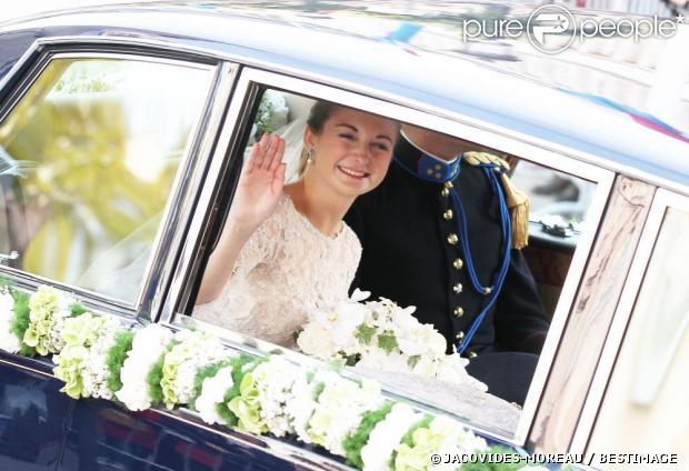 Mariage Prince Guillaume et Stéphanie de Lannoy