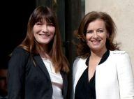 Carla Bruni-Sarkozy : Son conseil à Valérie Trierweiler ? Le mariage !