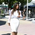 Kim Kardashian cherche un local commercial à Miami, le 29 octobre 2012