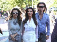 Kim et Kourtney Kardashian : Journée business pour les soeurs toujours lookées