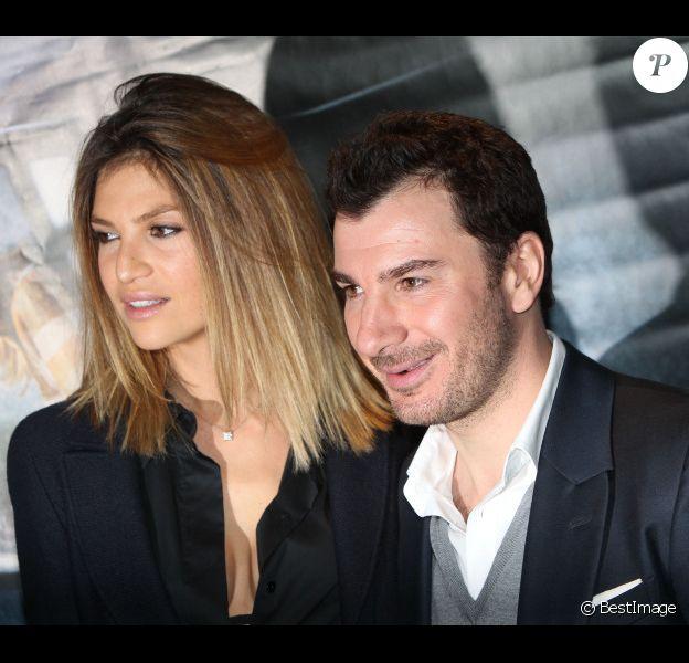 Michael Youn et Isabelle Funaro assistent à l'avant-première du film La Traversée au cinéma UGC Ciné Cité Les Halles, à Paris, le mardi 30 octobre 2012.