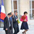 Marisol Touraine, ministre des Affaires sociales et de la Santé, à la sortie du conseil des ministres, le 31 octobre 2012.