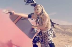 No Doubt : Looking Hot, Gwen Stefani en torride et indomptable squaw