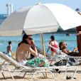 Rumer Willis, fille de Bruce Wilis et Demi Moore, en vacances sur la plage de Maui à Hawaï le 3 novembre 2012.