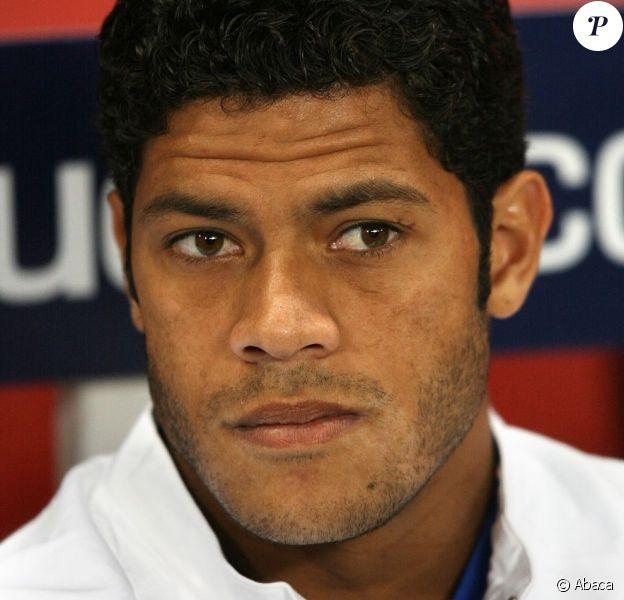 Hulk lors d'une conférence de presse à l'Emirates Stadium de Londres le 30 septembre 2008