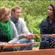 Alain Bernard, Michèle Bernier et Shy'm dans l'émission de Frédéric Lopez La Parenthèse inattendue le 7 novembre 2012 sur France 2