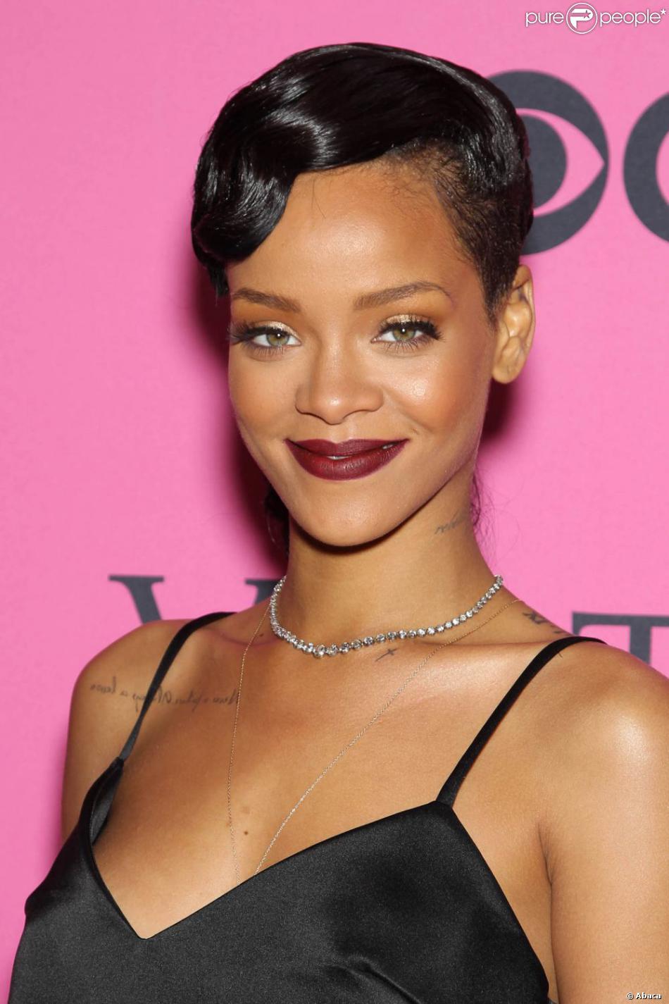 Rihanna arrive au 69th Regiment Armory pour le défilé Victoria's Secret. New York, le 7 novembre 2012.