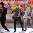 Bruno Mars et son groupe faisaient swinger le défiler Victoria's Secret. New York, le 7 novembre 2012.