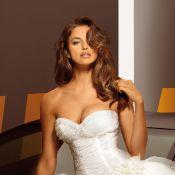 Irina Shayk : Sublime en robe de mariée, un message pour Cristiano Ronaldo ?