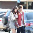 Justin Bieber et Selena Gomez ont déjeuné ensemble à Studio City le 25 février 2012