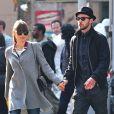 Jessica Biel et Justin Timberlake dans les rues de New York le 11 novembre 2012.