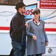 Jessica Biel et Justin Timberlake dans les rues de New York, vont au cinéma pour voir Skyfall le 11 novembre 2012.