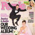 Jessica Biel et Justin Timberlake posent pour People novembre 2012.