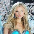 """""""Magdalena Frackowiak lors du défilé Victoria's Secret. New York, le 7 novembre 2012."""""""