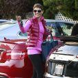 Lori Loughlin et ses filles Isabella et Olivia ont fait des courses à Beverly Hills, le 14 novembre 2012.