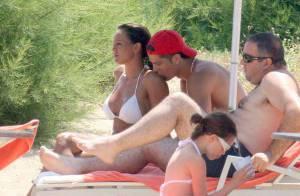 PHOTOS EXCLUSIVES : Cristiano Ronaldo très amoureux sous le soleil de Sardaigne !