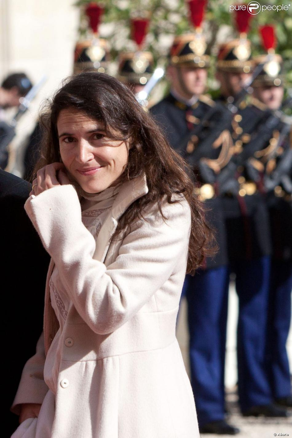Mazarine Pingeot au palais de l'Elysée à Paris le 15 mai 2012