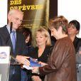 """Bernard Boucault (Prefet de Police) - Remise du prix polar """"Quai des Orfevres 2013"""" a Danielle Thiery, ancienne commissaire de Police. Le 20 novembre 2012 20/11/2012 - PARIS"""