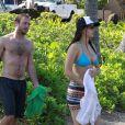 L'actrice Jennifer Lawrence passe ses vacances avec sa famille à Hawaï. Photo prise le 21 novembre 2012.