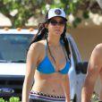Jennifer Lawrence est sublime en bikini. Elle passe actuellement ses vacances à Hawaï avec sa famille. Photo prise le 21 novembre 2012.