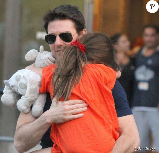 Tom Cruise et Suri apparaissent ensemble pour la première fois depuis le divorce officiellement prononcé, le 17 juillet 2012.