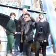 Nathan Sykes, Max George et Jay McGuiness du groupe  The Wanted  ont participé à la 86e parade annuelle de Thanksgiving organisée par les magasins Macy's, le 22 novembre 2012 à New York.