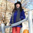 Carly Rae Jepsen takes a participé à la 86e parade annuelle de Thanksgiving organisée par les magasins Macy's, le 22 novembre 2012 à New York.