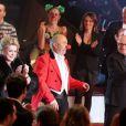 Catherine Deneuve, Gérard Jugnot et Michel Blanc lors du 51e Gala de l'Union Des Artistes au sein du Cirque Alexis Gruss le 12 novembre 2012 à Paris
