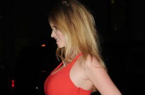 Lara Stone sexy et enceinte aux Gotham Independent Film Awards