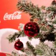 L'inauguration des vitrines de Noël Coca-Cola au Showcase à Paris le 26 Novembre 2012