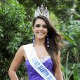 Suzon Bonnet, Miss Saint-Martin, candidate pour Miss France 2013, le 8 décembre 2012 sur TF1