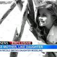 Dannielynn Birkhead sur la chaîne ABC pour  ABC News  et  Good Morning America , mardi 27 novembre 2012.