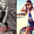 En 1992, Anna Nicole Smith devient l'égérie de la marque Guess. Vingt ans plus tard, en 2012, sa fille Dannielynn Birkhead devient elle aussi l'égérie de la marque pour sa ligne enfant.