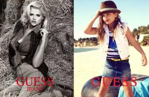 Anna Nicole Smith : Pour sa fille Dannielynn, poser pour Guess est un hommage