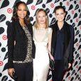 """Zoe Saldana et Kate Bosworth ont posé lors d""""une soirée shopping à New York le 28 novembre 2012"""