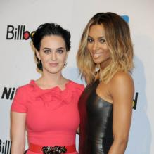 Katy Perry et Ciara lors de la soirée 'Billboard Women In Music luncheon' à New York le 30 Novembre 2012.
