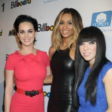 Katy Perry, Ciara et Carly Rae Jepsen lors de la soirée 'Billboard Women In Music luncheon' à New York le 30 Novembre 2012.