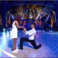 Amel Bent et Christophe lors de la finale de Danse avec les Satrs 3, samedi 1er novembre 2012 sur TF1