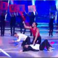 Le duel Chris Marques/Gérard Vivès lors de la finale de Danse avec les Stars 3, samedi 1er décembre 2012 sur TF1