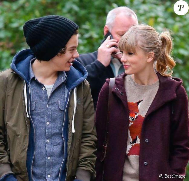 Taylor Swift et Harry Styles du groupe One Direction, son supposé nouveau compagnon, à New York le 2 décembre 2012.
