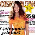Couverture de Cosmopolitan de janvier 2013 en kiosques le 4 décembre 2012.
