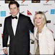 John Travolta et Olivia Newton-John à la soirée de gala de la semaine de l'Australie à Los Angeles le 19 janvier 2008.