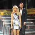 Présentation des candidates de l'élection Miss Prestige National 2013 au Lido le 5 décembre 2012 en présence du sympathique Bernard Montiel