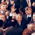 Nelson Mandela le 26 juin 1990 à Washington