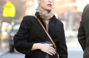 Claire Danes très enceinte : La future maman attend bébé en amoureux
