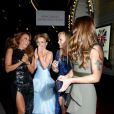 Geri Halliwell, Melanie Brown et Emma Bunton arrivent à l'after-party organisée après la première mondiale de la comédie musicale  Viva Forever , le 11 décembre 2012.